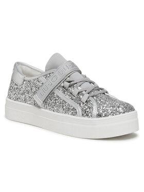 Liu Jo Liu Jo Sneakersy Alicia 26 4A1701 TX007 D Stříbrná