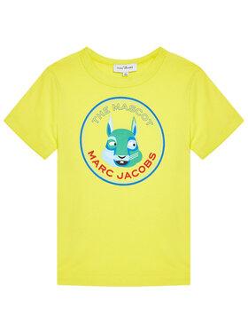 Little Marc Jacobs Little Marc Jacobs T-shirt W25464 S Jaune Regular Fit