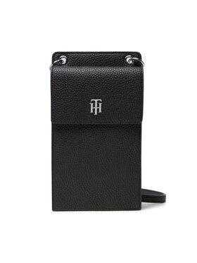 Tommy Hilfiger Tommy Hilfiger Калъф за телефон Th Element Phone Wallet AW0AW10755 Черен