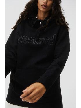 Sprandi Sprandi Sweatshirt AW21-SUD009 Noir Relaxed Fit