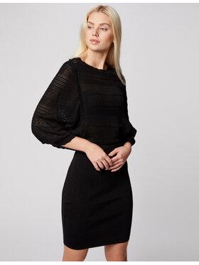 Morgan Morgan Každodenní šaty 211-RMGIGI Černá Slim Fit