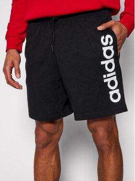 adidas adidas Sport rövidnadrág M Lin Sj Sho GK9604 Fekete Regular Fit