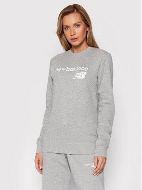 New Balance New Balance Džemperis Classic Core Fleece WT03811 Pilka Relaxed Fit