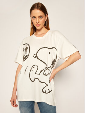 Levi's® Levi's® Tricou PEANUTS® Graphic 56152-0003 Alb Relaxed Fit