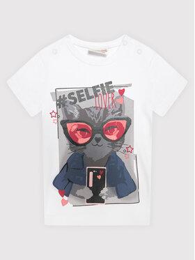 Coccodrillo Coccodrillo T-Shirt ZC1143234EVG Bílá Regular Fit