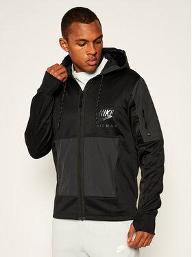 NIKE NIKE Džemperis Air Max Full-Zip Hoodie CU0114 Juoda Regular Fit