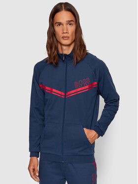 Boss Boss Sweatshirt Authentic Jacket Z 50436637 Dunkelblau Regular Fit