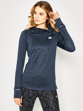 New Balance New Balance Bluză Nyc Marathon WT93246 Bleumarin Athletic Fit