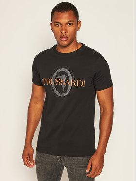 Trussardi Jeans Trussardi Jeans T-shirt 52T00385 Nero Regular Fit