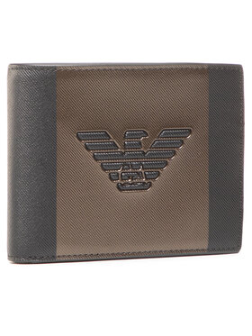 Emporio Armani Emporio Armani Velká pánská peněženka Y4R165 YFE6J 84733 Černá