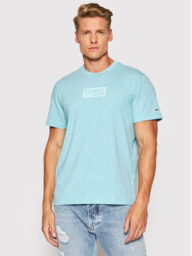 Tommy Jeans Tommy Jeans Тишърт DM0DM10275 Син Regular Fit