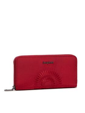 Desigual Desigual Veľká dámska peňaženka 21WAYA05 Červená