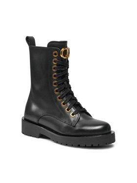 TWINSET TWINSET Outdoorová obuv Anfibio 212TCP14A Čierna