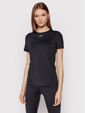 Nike Nike Технічна футболка AO9951 Чорний Slim Fit