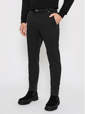 Calvin Klein Calvin Klein Chino K10K106894 Crna Slim Fit