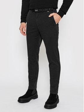 Calvin Klein Calvin Klein Chinosy K10K106894 Czarny Slim Fit