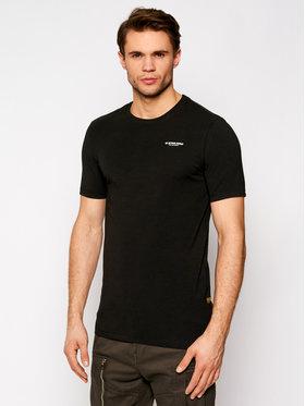 G-Star Raw G-Star Raw T-Shirt Base D19070-C723-6484 Černá Slim Fit
