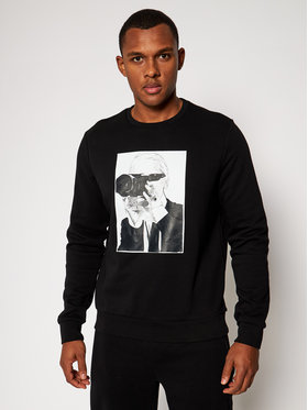 KARL LAGERFELD KARL LAGERFELD Sweatshirt Sweat 705036 502910 Noir Regular Fit