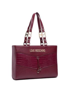 LOVE MOSCHINO LOVE MOSCHINO Дамска чанта JC4292PP0BKP150A Бордо