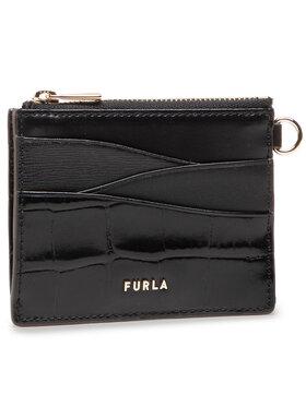 Furla Furla Kreditinių kortelių dėklas Armonia WP00027A-A.0391-O6000-1-007-20-CN-P Juoda