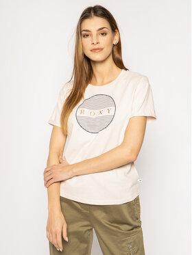 Roxy Roxy Marškinėliai Epic Afternoon ERJZT04809 Rožinė Regular Fit