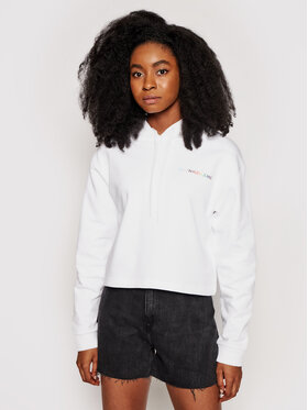 Calvin Klein Jeans Calvin Klein Jeans Bluză Pride J20J217206 Alb Regular Fit