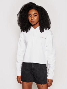 Calvin Klein Jeans Calvin Klein Jeans Суитшърт Pride J20J217206 Бял Regular Fit
