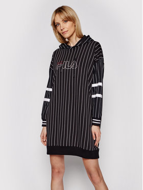 Fila Fila Džemper haljina Jami 683302 Crna Regular Fit
