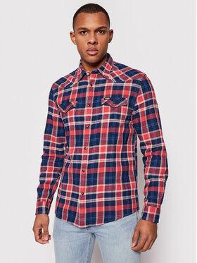 Wrangler Wrangler Marškiniai Western W5A03TXA4 Raudona Regular Fit