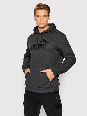 Puma Puma Džemperis Essentials Big Logo 586686 Pilka Regular Fit