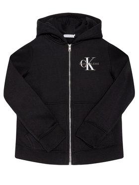 Calvin Klein Jeans Calvin Klein Jeans Bluza Monogram Chest IG0IG00583 Czarny Regular Fit