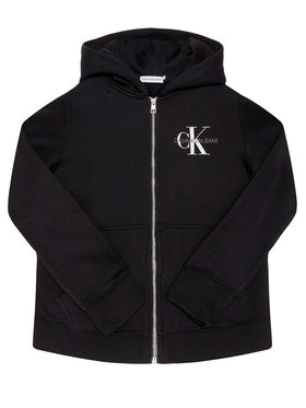 Calvin Klein Jeans Calvin Klein Jeans Μπλούζα Monogram Chest IG0IG00583 Μαύρο Regular Fit