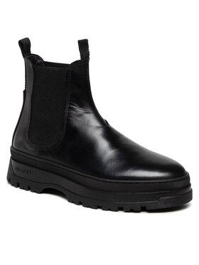 Gant Gant Členková obuv s elastickým prvkom St Grip 23651213 Čierna