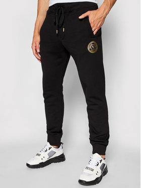 Versace Jeans Couture Versace Jeans Couture Teplákové kalhoty Emblem Foil 71GAAT03 Černá Regular Fit