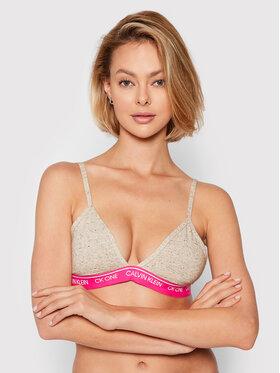 Calvin Klein Underwear Calvin Klein Underwear Podprsenka Bralette 000QF5953E Sivá