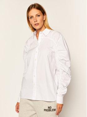 KARL LAGERFELD KARL LAGERFELD Hemd Poplin 205W1601 Weiß Regular Fit