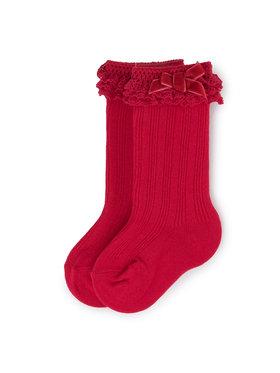 Mayoral Mayoral Vysoké detské ponožky 10636 Červená