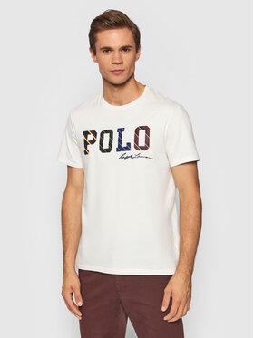 Polo Ralph Lauren Polo Ralph Lauren Тишърт 710853265005 Бял Custom Slim Fit