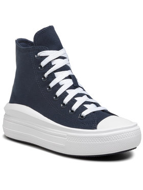 Converse Converse Sneakers aus Stoff Ctas Move Hi 570261C Dunkelblau
