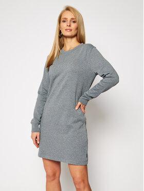Calvin Klein Calvin Klein Sukienka dzianinowa Ls Stud Logo Hwk K20K202420 Szary Regular Fit