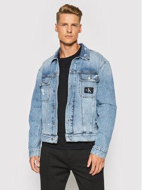 Calvin Klein Jeans Calvin Klein Jeans Džínsová bunda J30J318386 Modrá Regular Fit