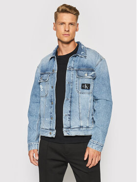 Calvin Klein Jeans Calvin Klein Jeans Traper jakna J30J318386 Plava Regular Fit