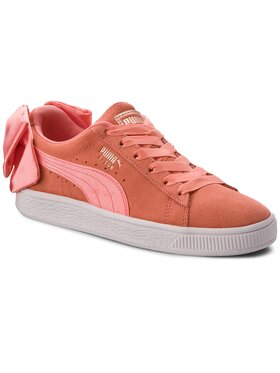 Puma Puma Sneakersy Suede Bow Jr 367316 01 Oranžová