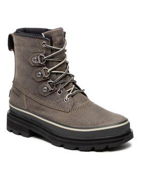 Sorel Sorel Botki Lennox Street Boot Wp NL4418 Zielony