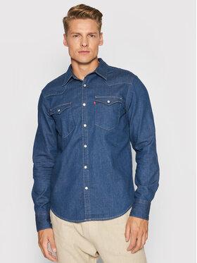 Levi's® Levi's® Jeanshemd Barstow Western 85744-0029 Blau Standard Fit