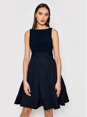 Lauren Ralph Lauren Lauren Ralph Lauren Коктейлна рокля Combo 253810539001 Тъмносин Regular Fit