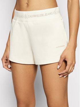 Calvin Klein Jeans Calvin Klein Jeans Pantaloni scurți sport J20J215561 Bej Slim Fit