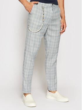 Imperial Imperial Spodnie materiałowe PD2FBPO Niebieski Slim Fit