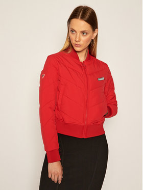 Guess Guess Bomber O0BA70 WO043 Rosso Regular Fit