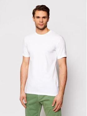 Trussardi Trussardi Marškinėliai 52T00499 Balta Slim Fit